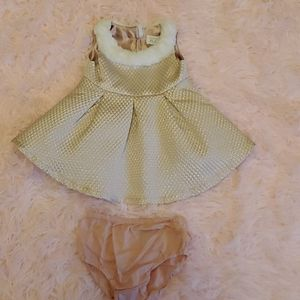 🌾The Children's Place 0-3 dress with bloomers